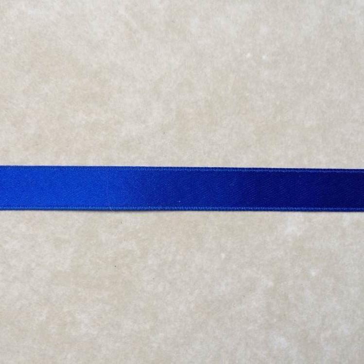 040 ruban satin 10mm bleu
