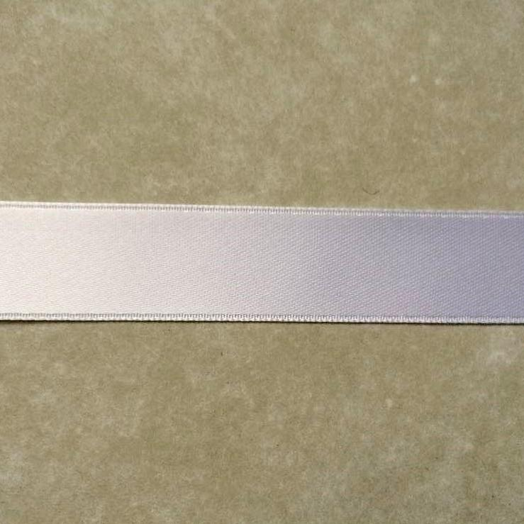 401 ruban satin 16mm blanc