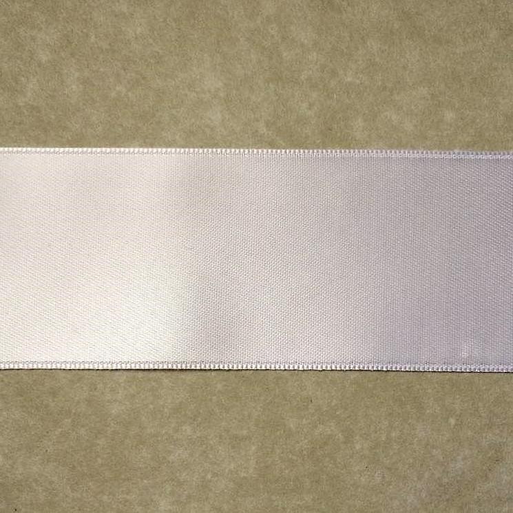401 ruban satin 40mm blanc