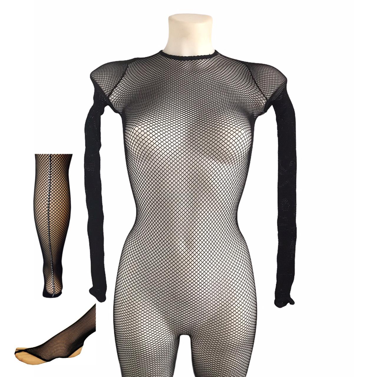 Aca 07 n academique resille noir sans pieds avec galon de strass couture professionnel danse tenue de scene