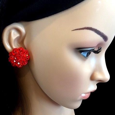 Bo 12 boucle d oreilles en strass