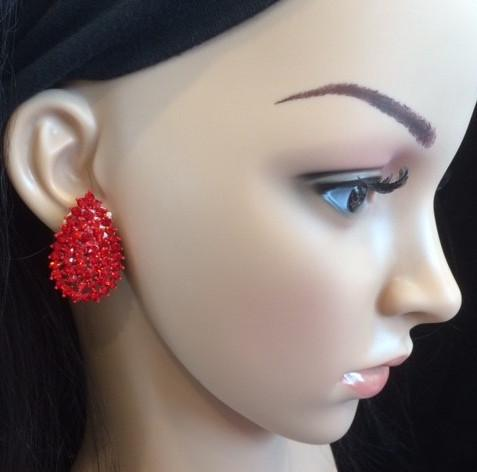 Bo 13 boucle d oreilles en strass