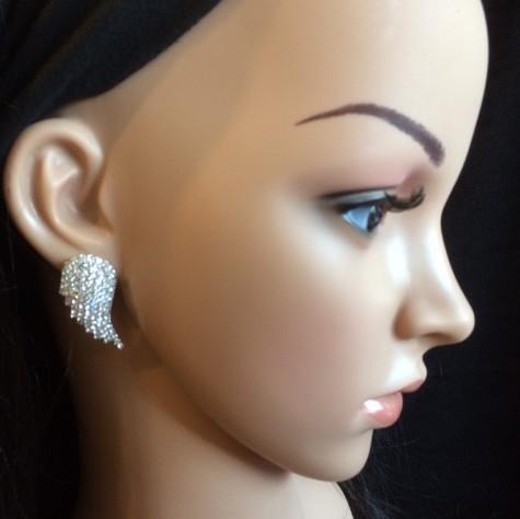 Bo 34 boucle d oreilles en strass