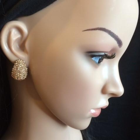 Bo 35 boucle d oreilles en strass