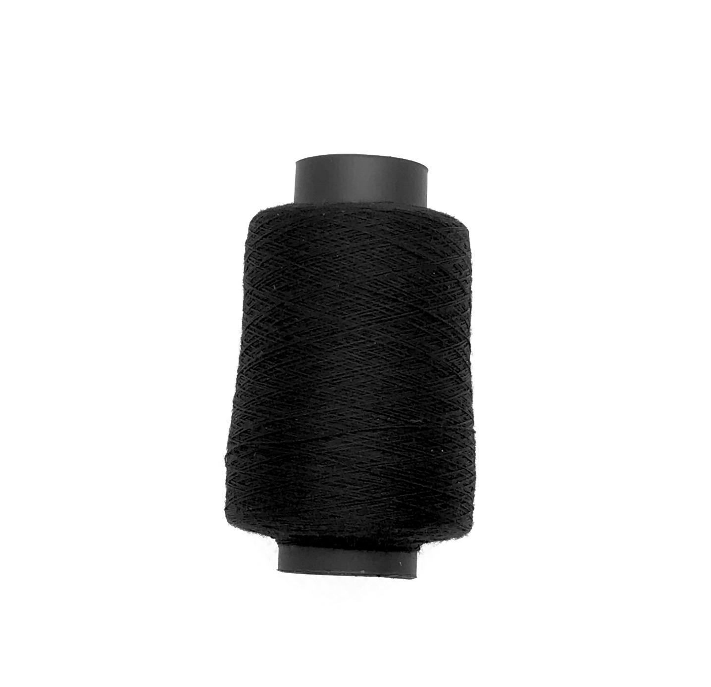 Bobine de fil a coudre noir eco tout textil polyester
