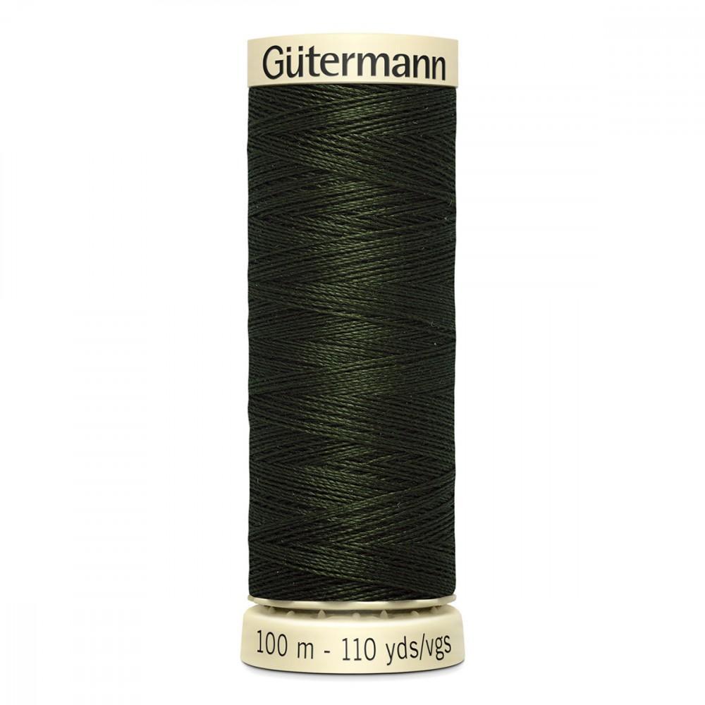 Bobine n 304 de fil pour tout coudre polyester gutermann 100 m