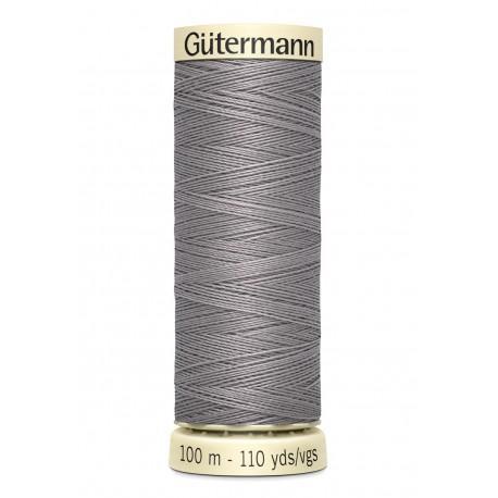 Bobine n 493 de fil pour tout coudre polyester gutermann 100 m