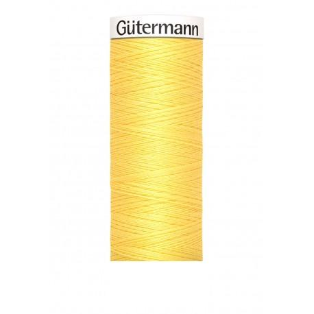 Bobine n 852 de fil pour tout coudre polyester gutermann 100 m
