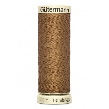 Bobine n 887 de fil pour tout coudre polyester gutermann 100 m