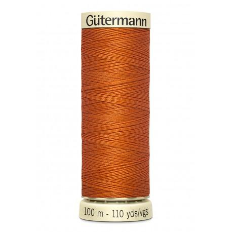 Bobine n 982 de fil pour tout coudre polyester gutermann 100 m