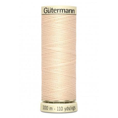Bobine n005 de fil pour tout coudre polyester gutermann 100 m