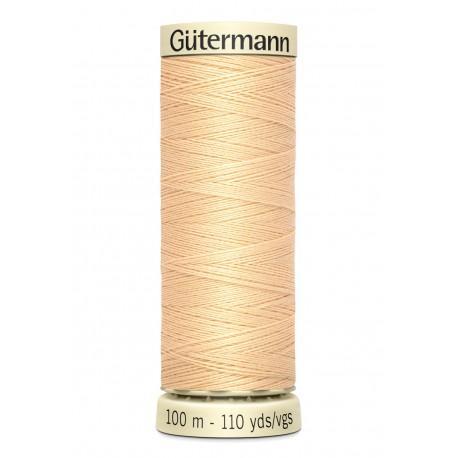 Bobine n006 de fil pour tout coudre polyester gutermann 100 m