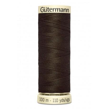 Bobine n021 de fil pour tout coudre polyester gutermann 100 m
