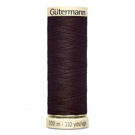 Bobine n023 de fil pour tout coudre polyester gutermann 100 m