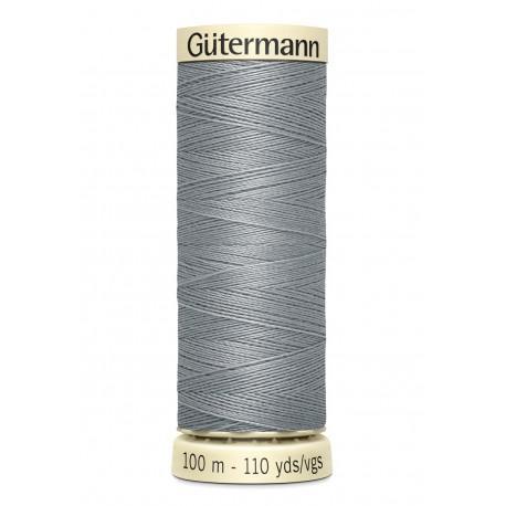 Bobine n040 de fil pour tout coudre polyester gutermann 100 m