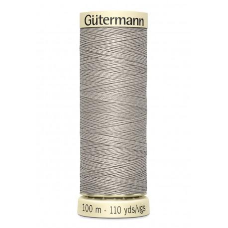 Bobine n118 de fil pour tout coudre polyester gutermann 100 m