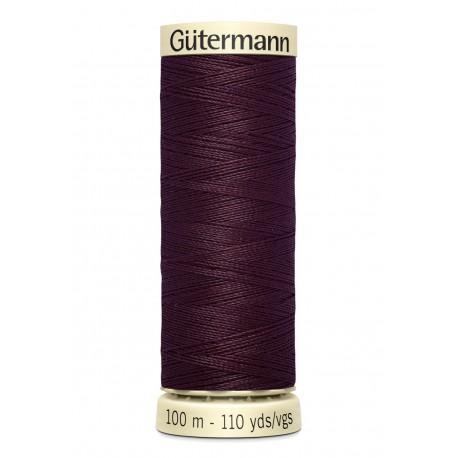 Bobine n130 de fil pour tout coudre polyester gutermann 100 m