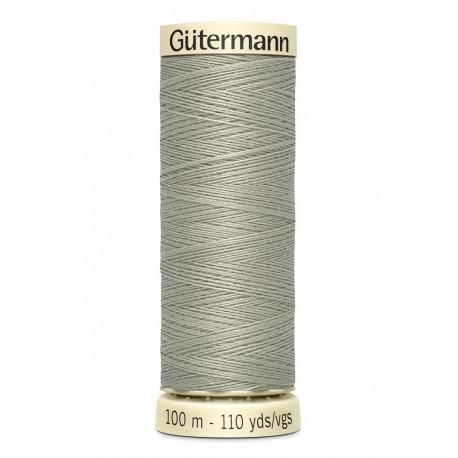 Bobine n132 de fil pour tout coudre polyester gutermann 100 m