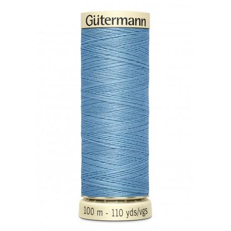 Bobine n143 de fil pour tout coudre polyester gutermann 100 m