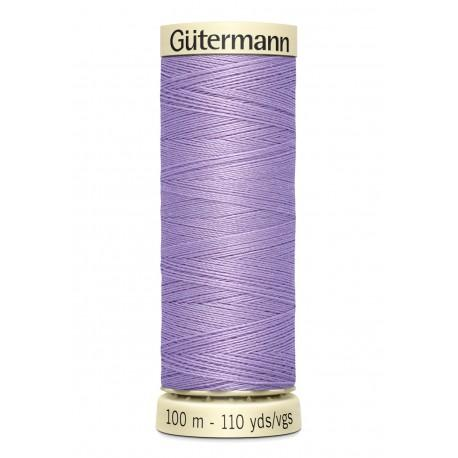 Bobine n158 de fil pour tout coudre polyester gutermann 100 m