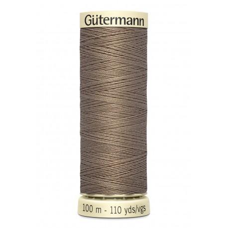 Bobine n160 de fil pour tout coudre polyester gutermann 100 m