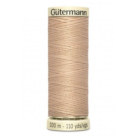 Bobine n170 de fil pour tout coudre polyester gutermann 100 m