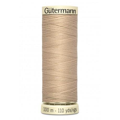 Bobine n186 de fil pour tout coudre polyester gutermann 100 m