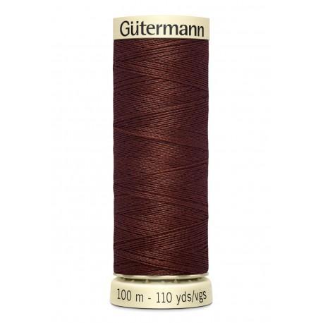 Bobine n230 de fil pour tout coudre polyester gutermann 100 m