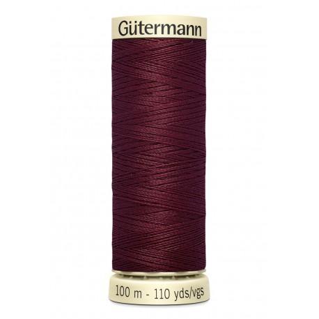 Bobine n369 de fil pour tout coudre polyester gutermann 100 m