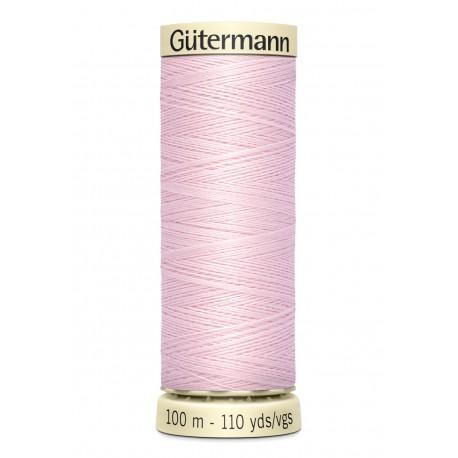 Bobine n372 de fil pour tout coudre polyester gutermann 100 m