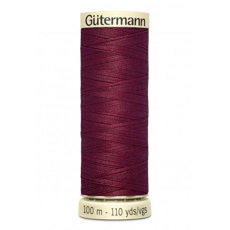 Bobine n375 de fil pour tout coudre polyester gutermann 100 m
