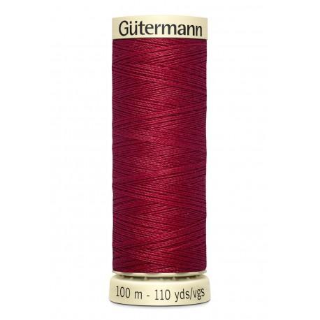 Bobine n384 de fil pour tout coudre polyester gutermann 100 m