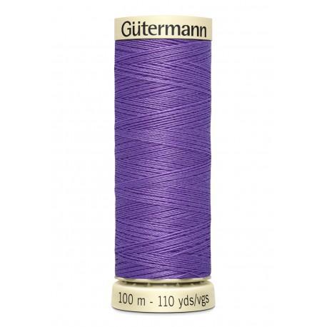 Bobine n391 de fil pour tout coudre polyester gutermann 100 m