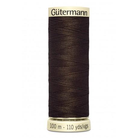 Bobine n406 de fil pour tout coudre polyester gutermann 100 m