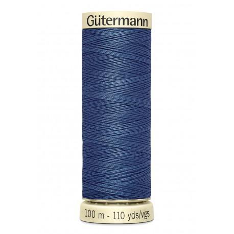 Bobine n435 de fil pour tout coudre polyester gutermann 100 m
