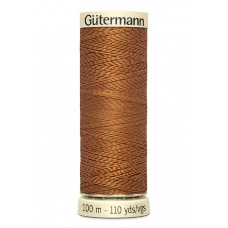 Bobine n448 de fil pour tout coudre polyester gutermann 100 m