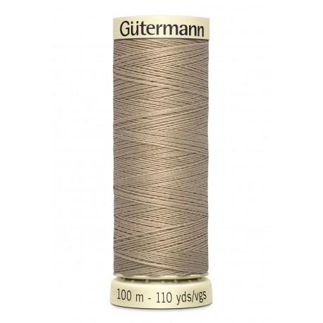 Bobine n464 de fil pour tout coudre polyester gutermann 100 m