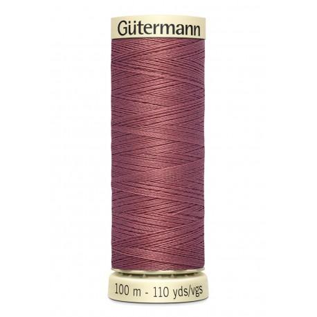 Bobine n474 de fil pour tout coudre polyester gutermann 100 m