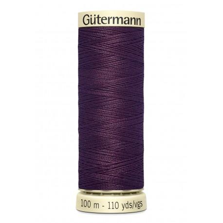 Bobine n517 de fil pour tout coudre polyester gutermann 100 m