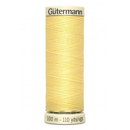 Bobine n578 de fil pour tout coudre polyester gutermann 100 m
