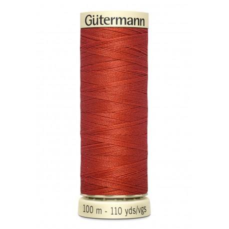 Bobine n589 de fil pour tout coudre polyester gutermann 100 m
