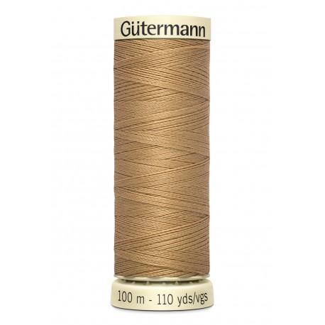 Bobine n591 de fil pour tout coudre polyester gutermann 100 m