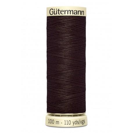 Bobine n696 de fil pour tout coudre polyester gutermann 100 m