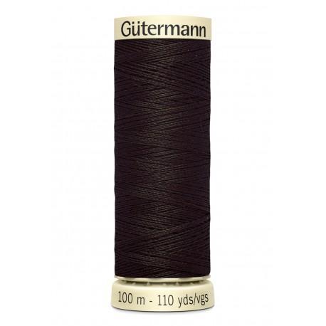 Bobine n697 de fil pour tout coudre polyester gutermann 100 m