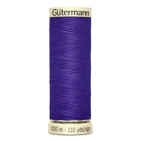 Bobine n810 de fil pour tout coudre polyester gutermann 100 m