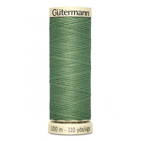 Bobine n821 de fil pour tout coudre polyester gutermann 100 m