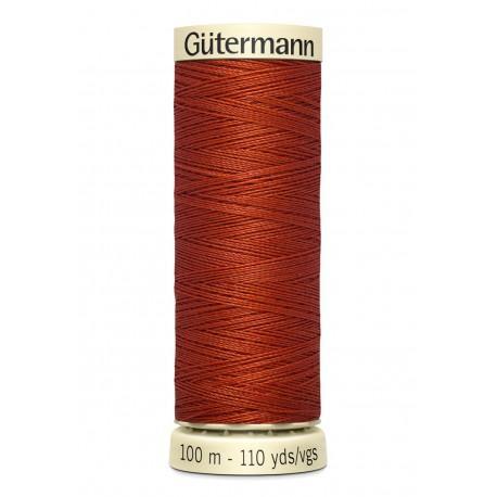 Bobine n837 de fil pour tout coudre polyester gutermann 100 m