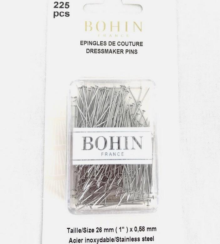 Boite epingles de couture bohin