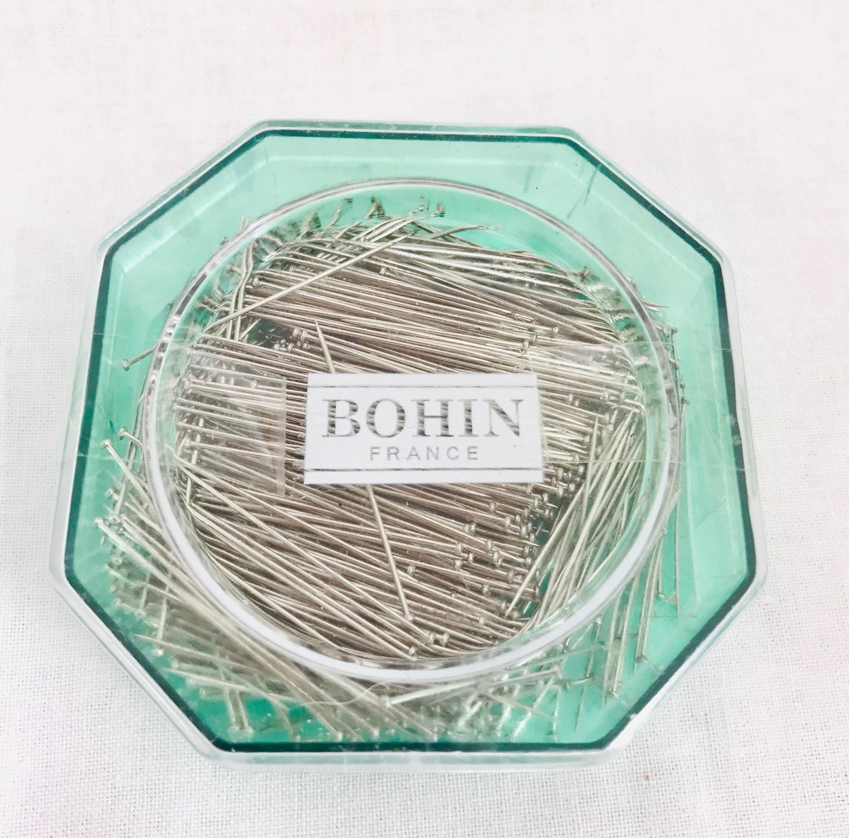 Boite epingles pour couture bohin