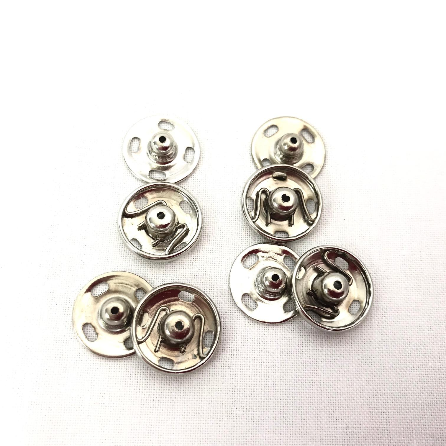 Boutons pression 15mm couture mercerie